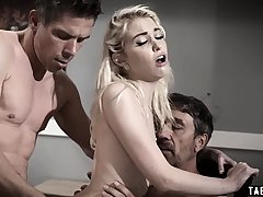 Teenager dp'd by her stepdad and her uncle