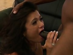 Nubile Cece Stone was not ready for that big dark-hued
