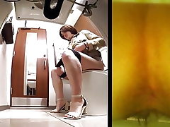 Chinese toilet Covert cam