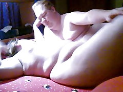 BBW and BHM having some fun in the guest room