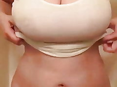 Super-steamy mammories compilation. Fabulous boobs. With music